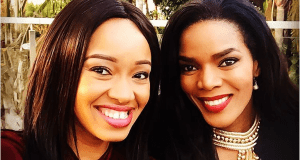 Dineo Moeketsi and Connie Ferguson