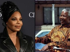 Janet Jackson and John Kani