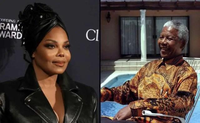 Janet Jackson and John Kani