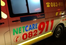 Motorcyclist airlifted to hospital