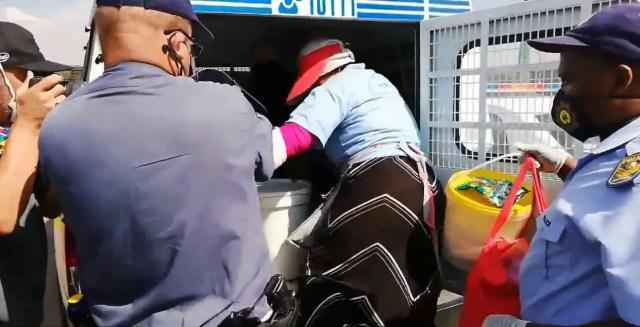 Police arrest Soweto gogo
