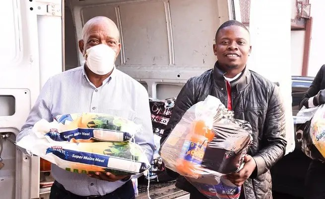Prophet Shepherd Bushiri donations