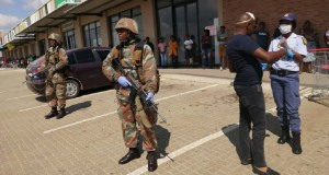 sandf saps lockdown