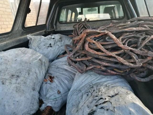 stolen copper cables