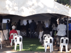 Andile Mbuthu burial