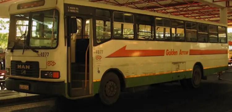 Golden Arrow bus drivers