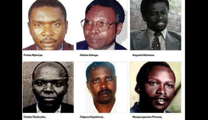 Rwanda genocide suspects