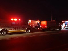 Six injured in mini-bus vs tractor crash