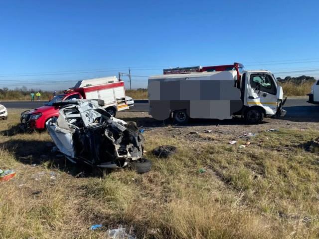 Two injured in Emalahleni crash