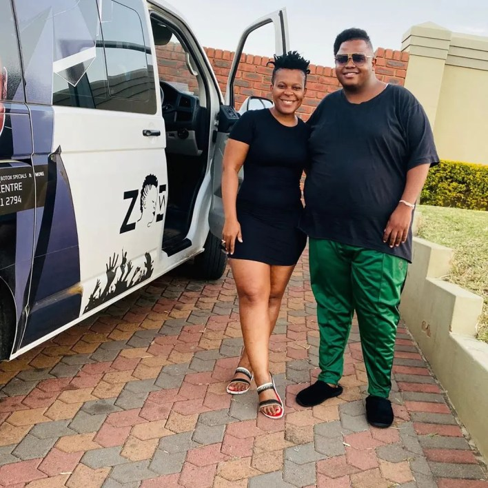 Zodwa Wabantu and Dladla Mshunqisi