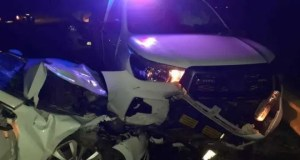 drunk driver crashes into police vehicles