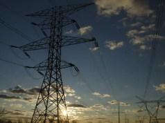 Eskom electricity pylons