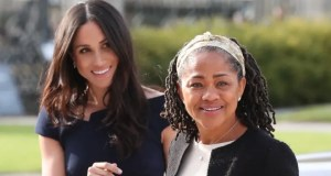 Meghan and mother