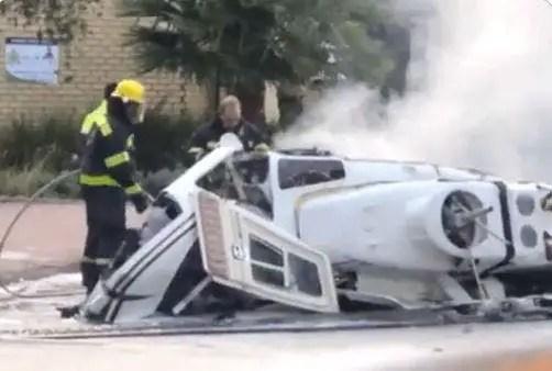 Midrand helicopter crash