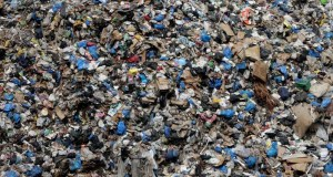 Rubbish piles up