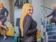 Yvonne Jegede has had some body work done