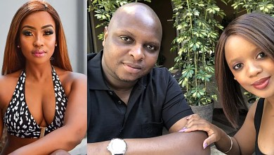 Photo of Trouble in paradise: EFF leader Floyd Shivambu's wife Siphesihle leaves the house, chef Lorna Maseko takes over