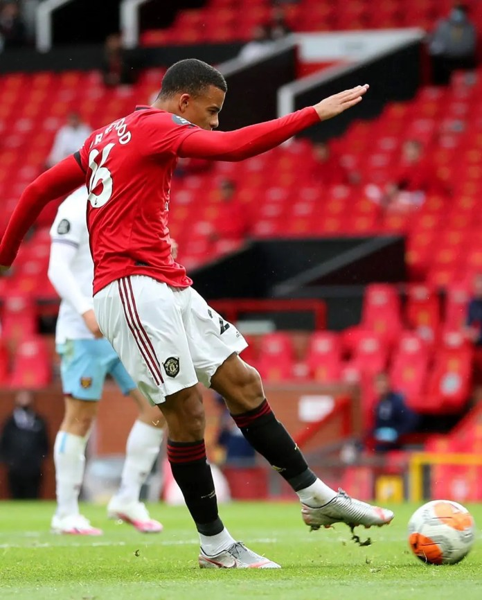 Greenwood scores as Man United draw 1-all with West Ham