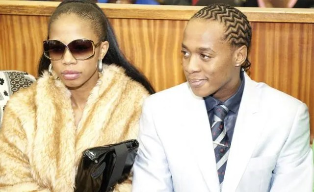 Kelly Khumalo and Jub Jub