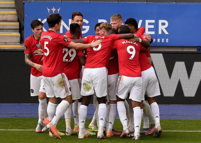 Leicester City 0 - 2 Manchester United