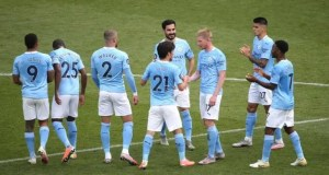 Manchester City 5 - 0 Norwich