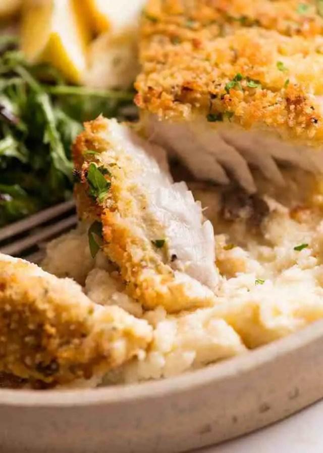 Parmesan-Baked-Fish