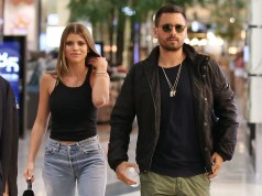 Scott Disick and Sofia Richie