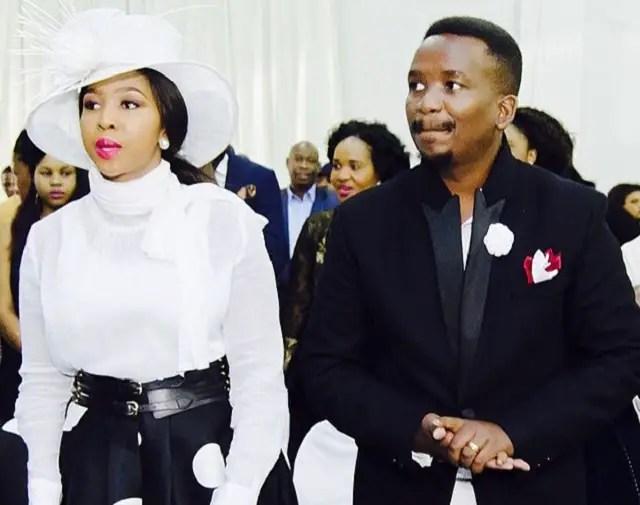 Sfiso Ncwane and Ayanda