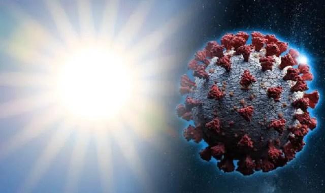 Coronavirus and sunlight