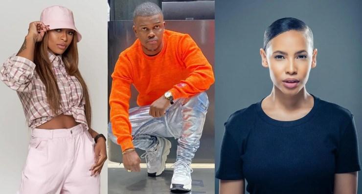 DJ Zinhle, Thuli Phongolo and Murdah