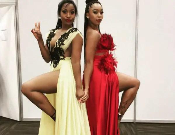Minnie Dlamini and Lorna Maseko