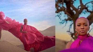 Nandi Madida and Beyonce