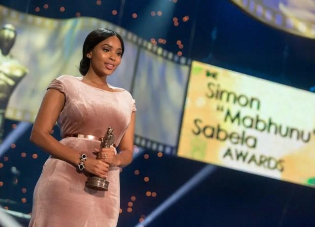 Simon Sabela Awards - Linda Mtoba