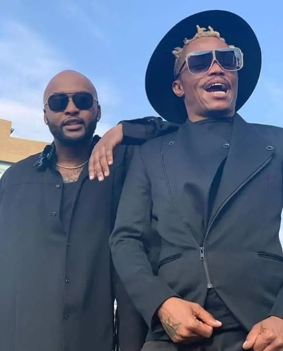 Somizi Mhlongo and Vusi Nova
