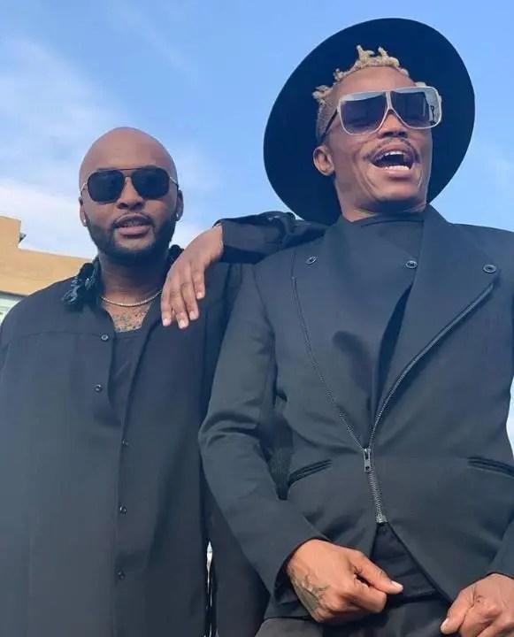Somizi Mhlongo and Vusi Nova