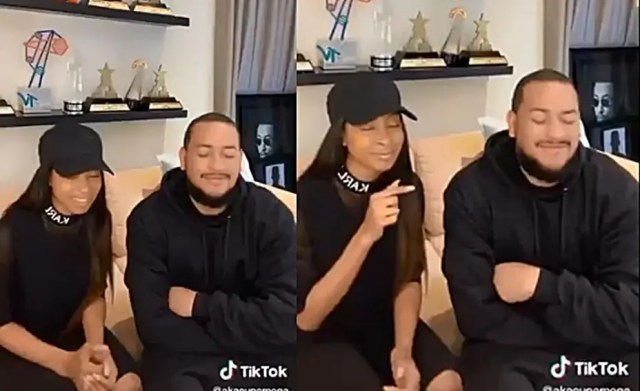 AKA and girlfriend Nellie Tembe