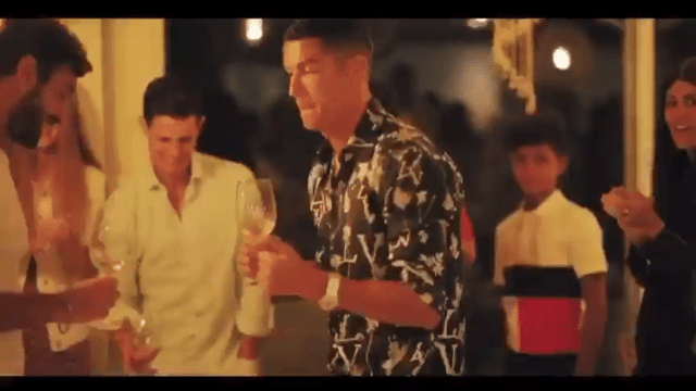 Cristiano Ronaldo and Family dancing to Master KG's Jerusalema