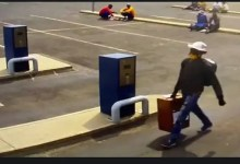 Photo of Man caught on video walking in KZN municipality and steals box of Job applications