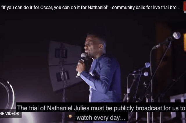 Nathaniel Julies trial