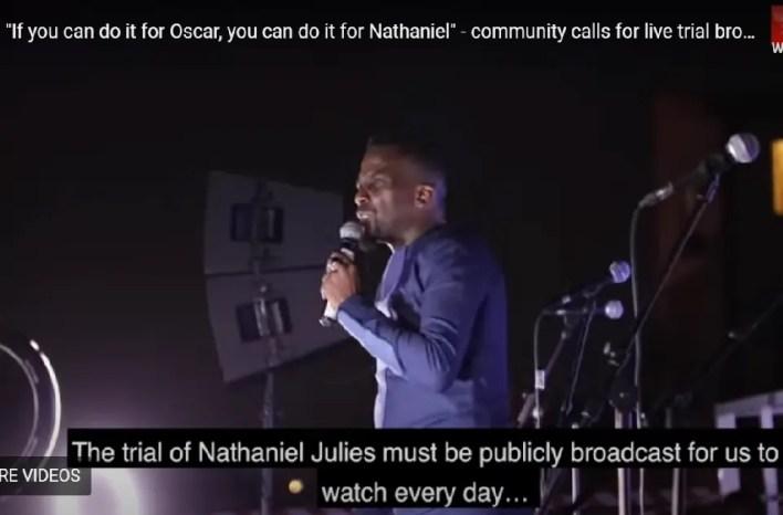 Nathaniel Julies trial