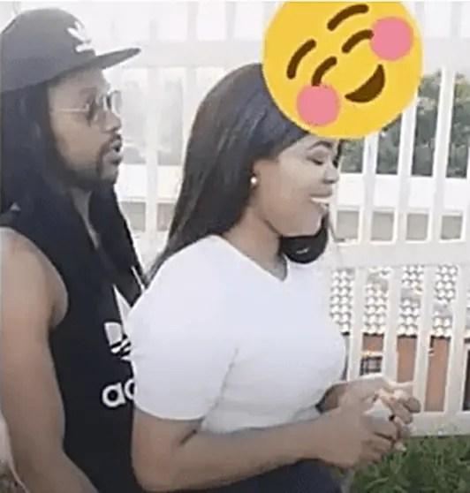 Simphiwe Majozi and Girlfriend