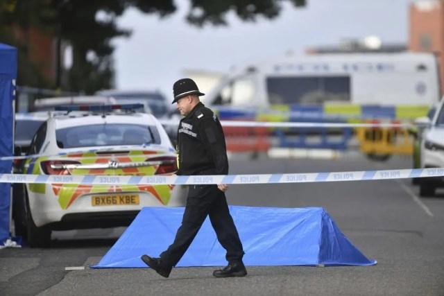 UK police arrest man