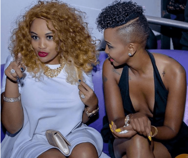 Huddah Monroe caught red handed