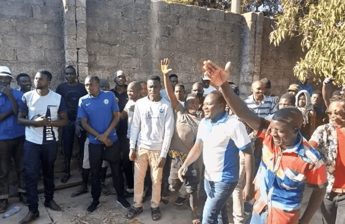UPND Youths mobilise without social distancing or face masks
