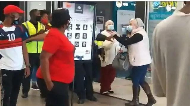 woman who pointed gun at EFF members