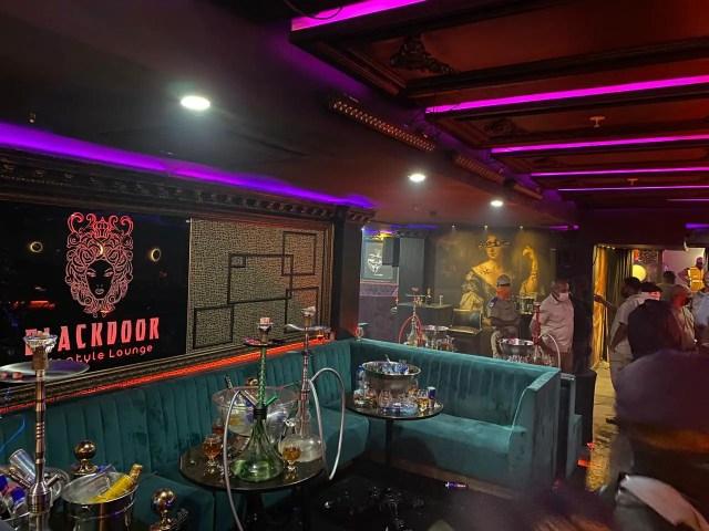 Blackdoor Lounge in Sandton