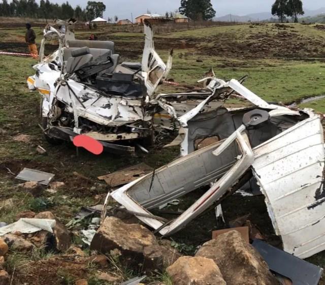 KZN taxi crash