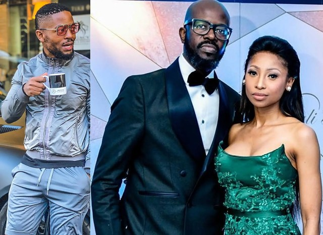 Prince Kaybee accused of sleeping with DJ Black Coffee's ex-wife Enhle Mbali