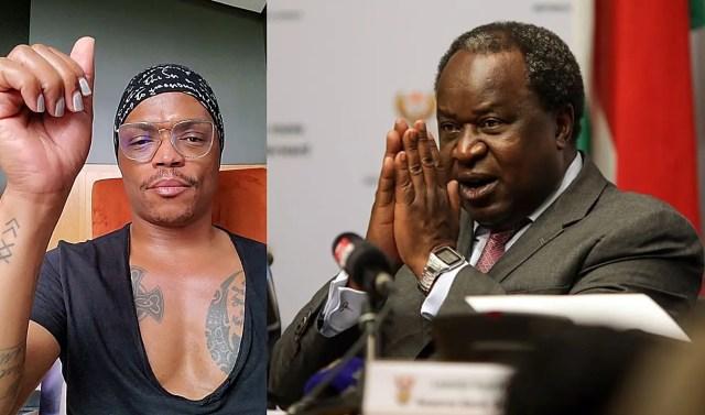 Somizi and Tito Mboweni