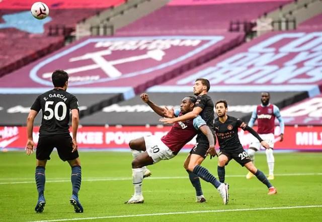 West Ham United 1 - 1 Manchester City